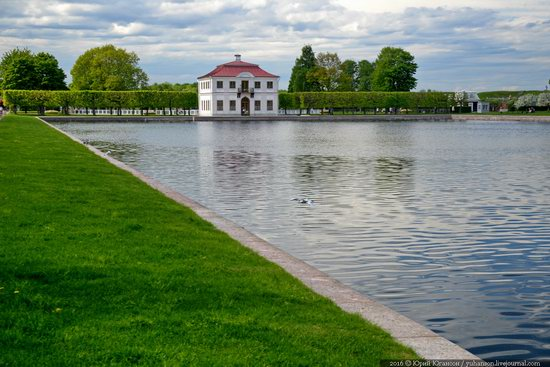 Spring in Peterhof museum, St. Petersburg, Russia, photo 20