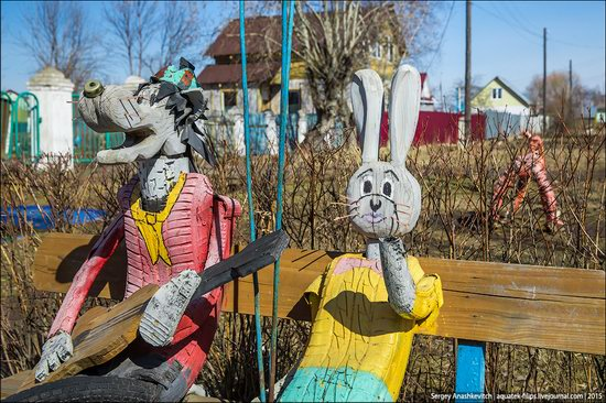 Strange self-made outdoor toys in Russia, photo 13