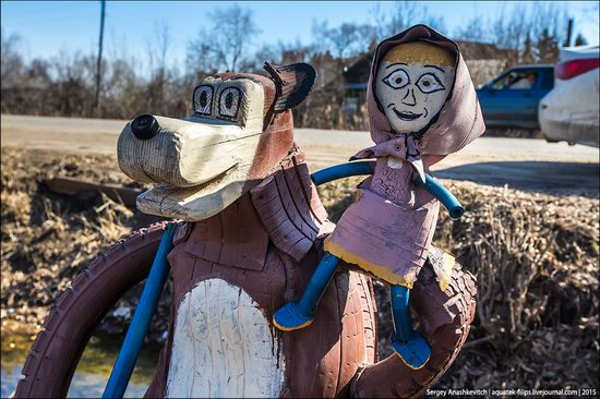 Strange self-made outdoor toys in Russia, photo 20