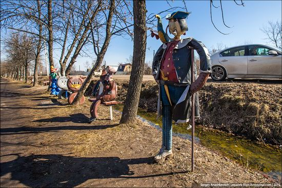 Strange self-made outdoor toys in Russia, photo 22