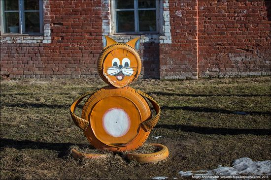Strange self-made outdoor toys in Russia, photo 25
