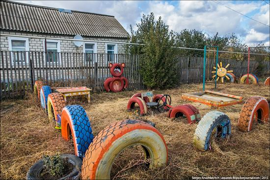 Strange self-made outdoor toys in Russia, photo 3