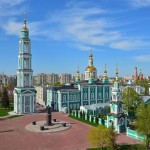 Majestic churches of Tambov in spring