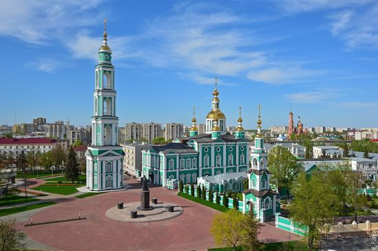 Majestic churches of Tambov, Russia in spring, photo 1