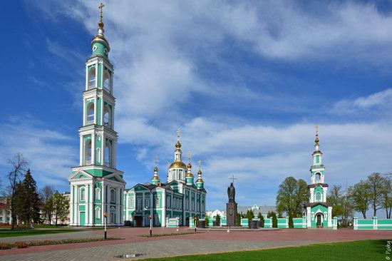 Majestic churches of Tambov, Russia in spring, photo 11
