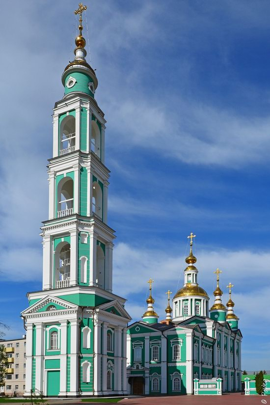 Majestic churches of Tambov, Russia in spring, photo 12