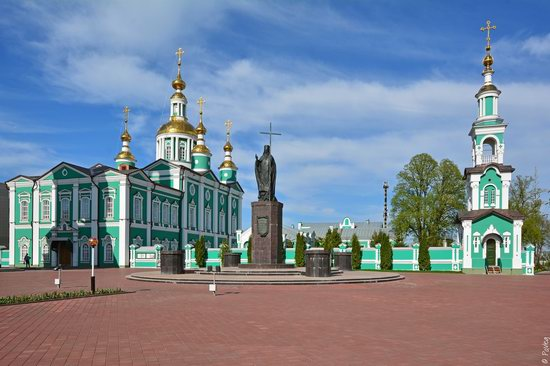 Majestic churches of Tambov, Russia in spring, photo 13