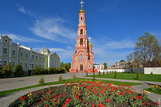 Majestic churches of Tambov, Russia in spring, photo 14