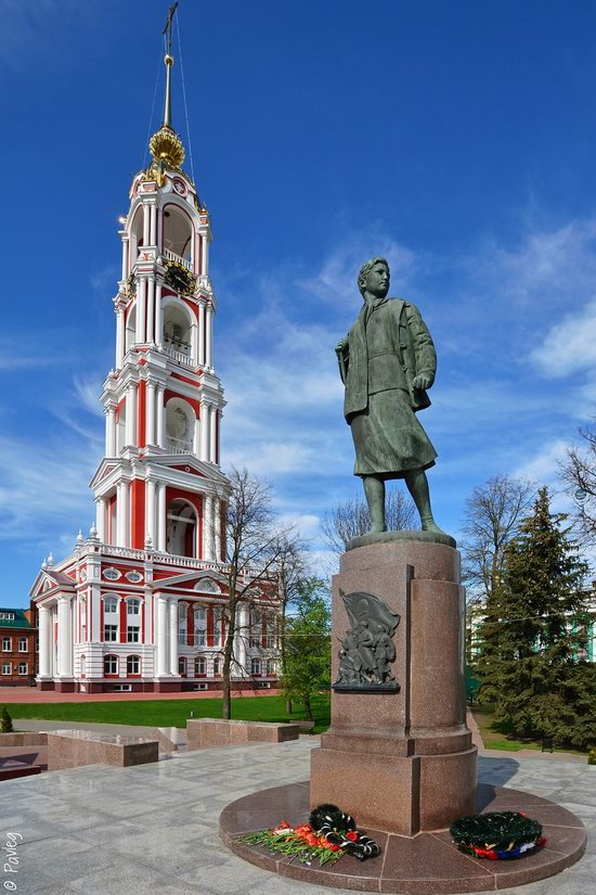 Majestic churches of Tambov, Russia in spring, photo 5