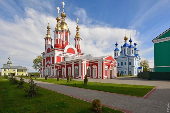 Majestic churches of Tambov, Russia in spring, photo 7