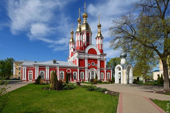 Majestic churches of Tambov, Russia in spring, photo 9