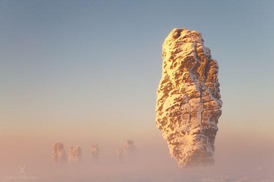 Manpupuner rock formations, Komi Republic, Russia, photo 1