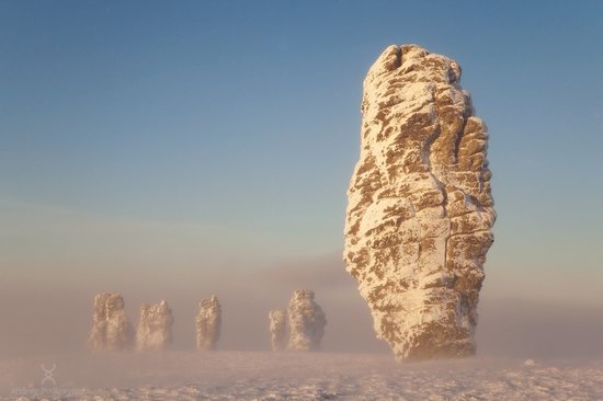 Manpupuner rock formations, Komi Republic, Russia, photo 13