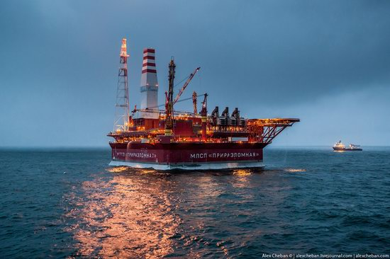Oil production on the shelf in the Russian Arctic, photo 18