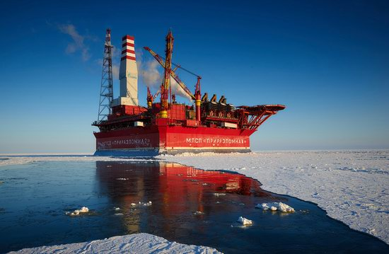 Oil production on the shelf in the Russian Arctic, photo 20