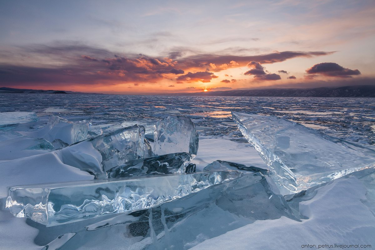 The beauty of the ice of Lake Baikal · Russia Travel Blog