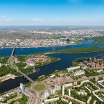 Let's fly over Krasnoyarsk – one of the oldest cities in Siberia