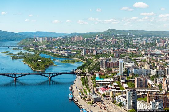 Krasnoyarsk city, Siberia, Russia, photo 13