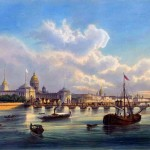 St. Petersburg in the 1850s in Daziaro's lithographs