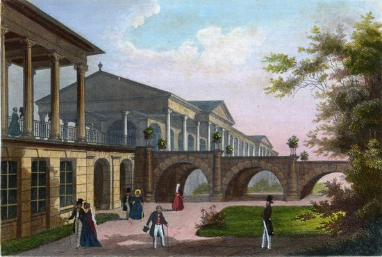 St. Petersburg in the 1850s in Daziaro lithographs, Russia, picture 12