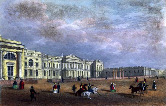 St. Petersburg in the 1850s in Daziaro lithographs, Russia, picture 2