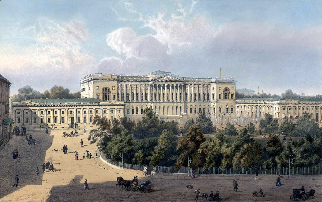 Saint Catherine University >> St. Petersburg in the 1850s in Daziaro's lithographs · Russia Travel Blog