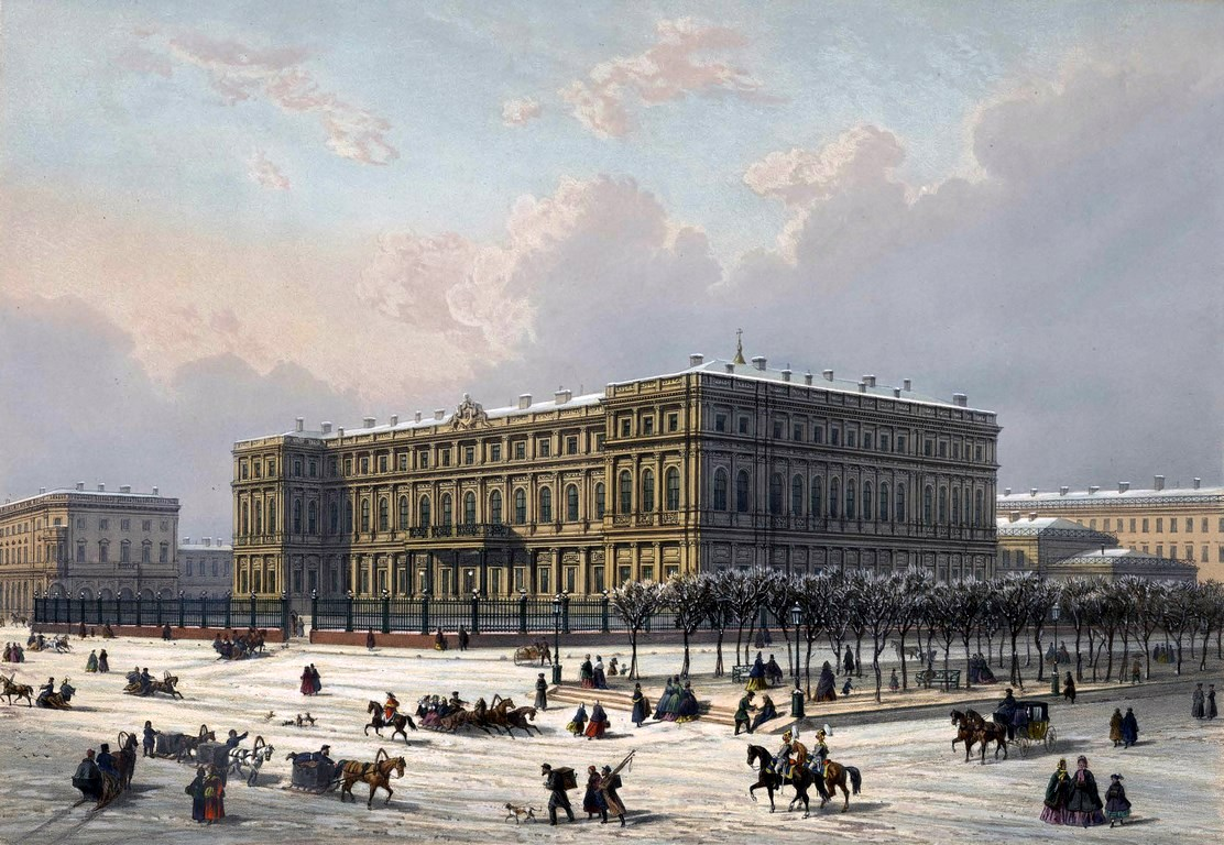St Petersburg In The 1850s In Daziaro S Lithographs