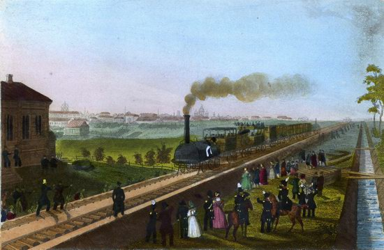 St. Petersburg in the 1850s in Daziaro lithographs, Russia, picture 6