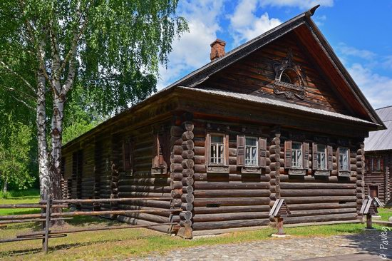 Wooden architecture museum Kostroma Sloboda, Russia, photo 16