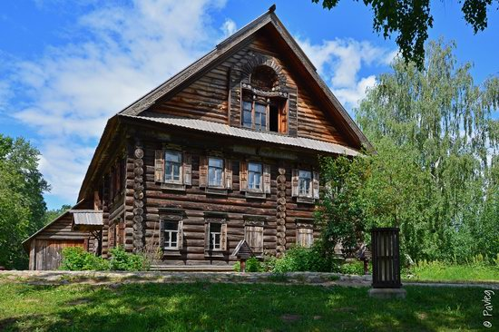 Wooden architecture museum Kostroma Sloboda, Russia, photo 18