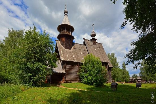 Wooden architecture museum Kostroma Sloboda, Russia, photo 23