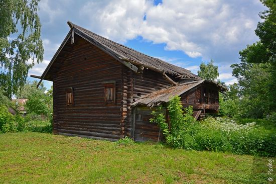 Wooden architecture museum Kostroma Sloboda, Russia, photo 3