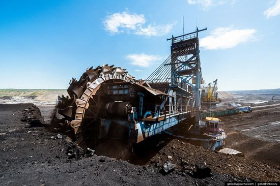 Borodinsky coal strip mine, Russia, photo 10
