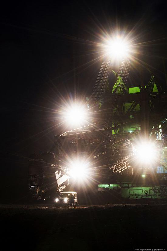 Borodinsky coal strip mine, Russia, photo 11