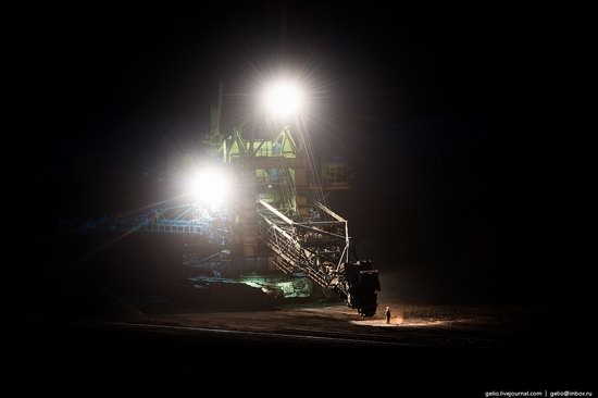 Borodinsky coal strip mine, Russia, photo 13
