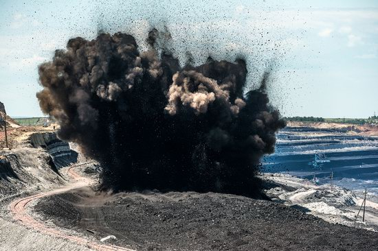 Borodinsky coal strip mine, Russia, photo 18