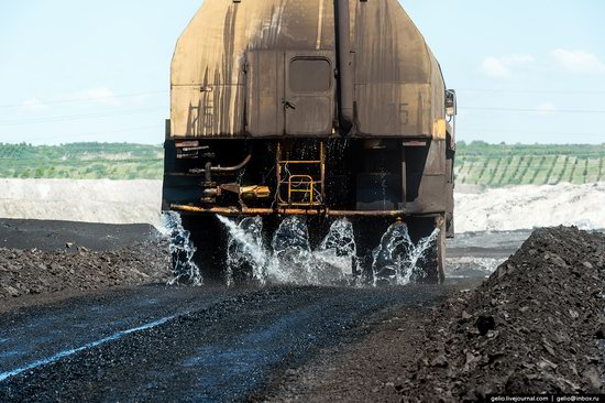 Borodinsky coal strip mine, Russia, photo 19