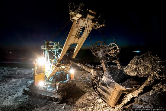Borodinsky coal strip mine, Russia, photo 20