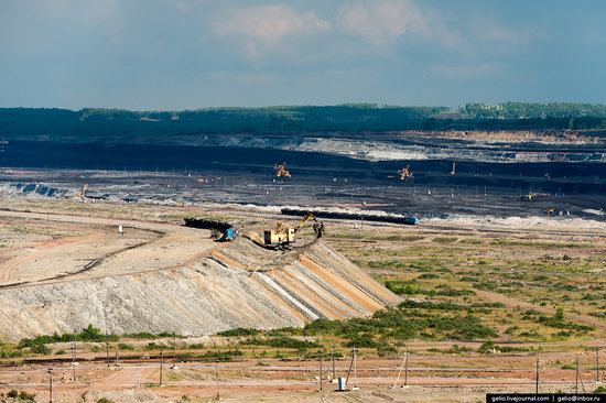 Borodinsky coal strip mine, Russia, photo 3