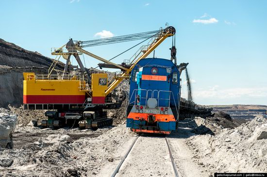 Borodinsky coal strip mine, Russia, photo 5