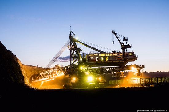 Borodinsky coal strip mine, Russia, photo 9