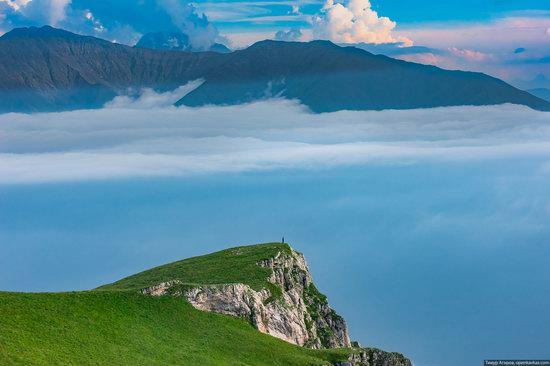 Climbing Stolovaya Mountain, Caucasus, Russia, photo 14