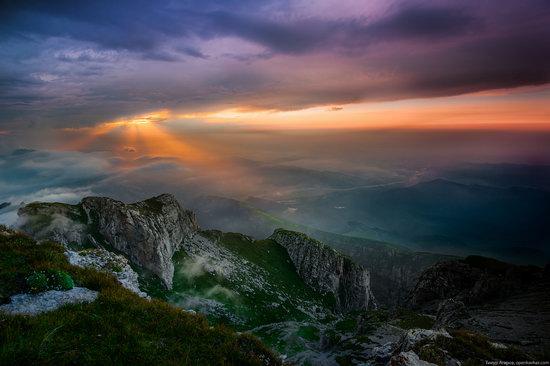 Climbing Stolovaya Mountain, Caucasus, Russia, photo 18
