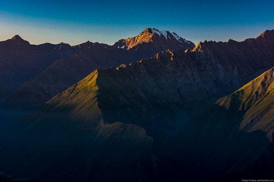 Climbing Stolovaya Mountain, Caucasus, Russia, photo 8