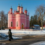 Amazing Church of the Transfiguration in Krasnoye village