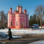 Amazing Church of the Transfiguration in Krasnoye village