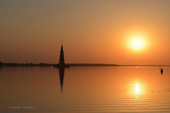 Flooded bell tower, Kalyazin, Tver region, Russia, photo 10