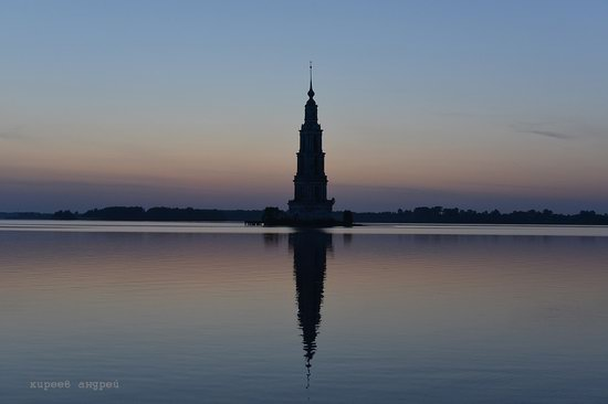 Flooded bell tower, Kalyazin, Tver region, Russia, photo 13