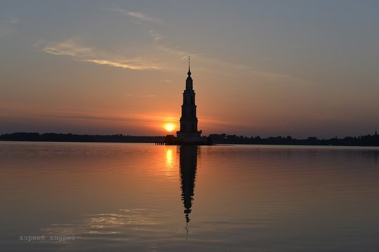 Flooded bell tower, Kalyazin, Tver region, Russia, photo 14