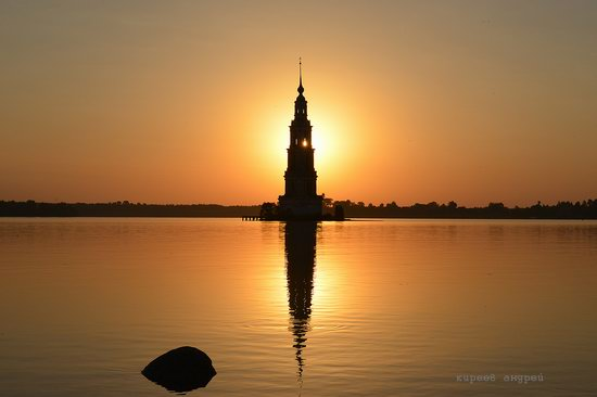 Flooded bell tower, Kalyazin, Tver region, Russia, photo 15